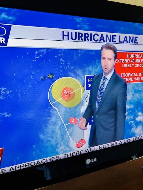 オワフとに来たハリケーン