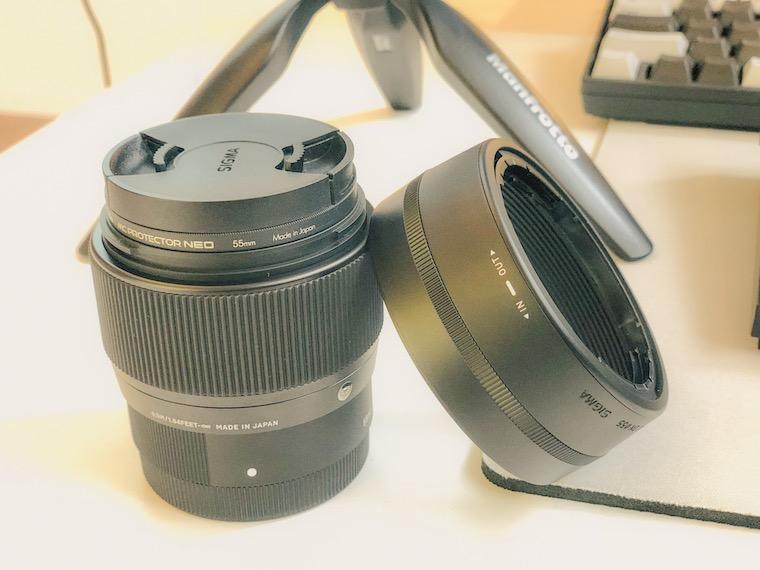 シグマの単焦点レンズ