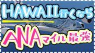 ANA(アナ)のマイルでハワイ!ビジネス・エコノミー・ファーストクラス