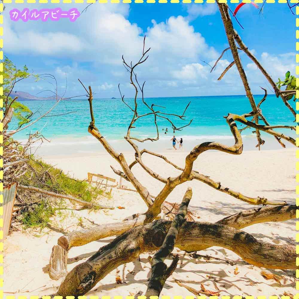 カイルアビーチの海