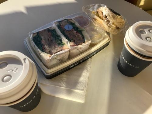 ディーンアンドデルーカ朝食