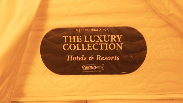 ザ・ラグジュアリー・コレクションのベッド