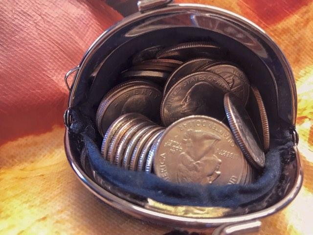 ドルの小銭